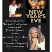 Celebrate New Years Eve with Us!
